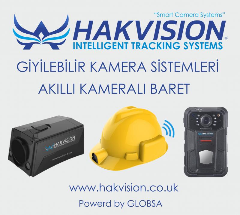 Kameralı Baret Sistemleri - Giyilebilir Kamera Sistemleri